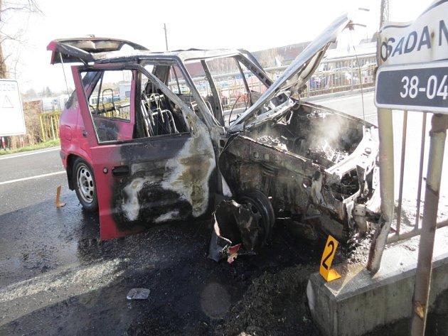 Nehoda v obci Církvice 2. dubna 2016