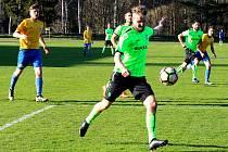 Fotbalová I. B třída: Zruč nad Sázavou - Hlízov 0:3.