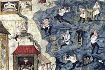 Kutnohorská iluminace (detail)
