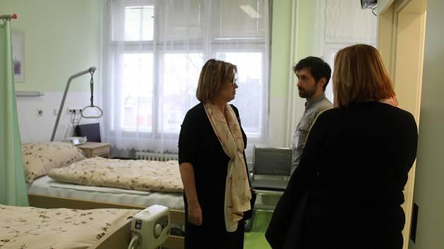 Slavnostní otevření oddělení paliativní péče v kutnohorské nemocnici.