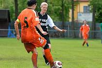 17. kolo III. ligy žen: Uhlířské Janovice - Mnichovo Hradiště, 30. května 2010.