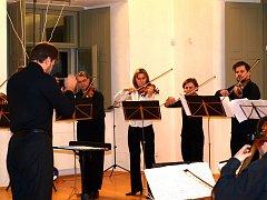 Koncert souboru Vox Bohemica v GASKu 17. února.