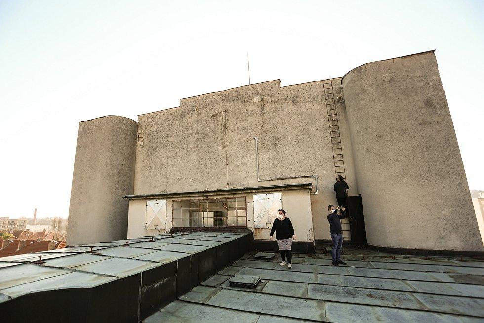 Tylovo divadlo v Kutné Hoře: střecha s výhledem.