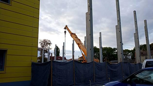Zahájení výstavby tréninkové sportovní haly Klimeška v Kutné Hoře.