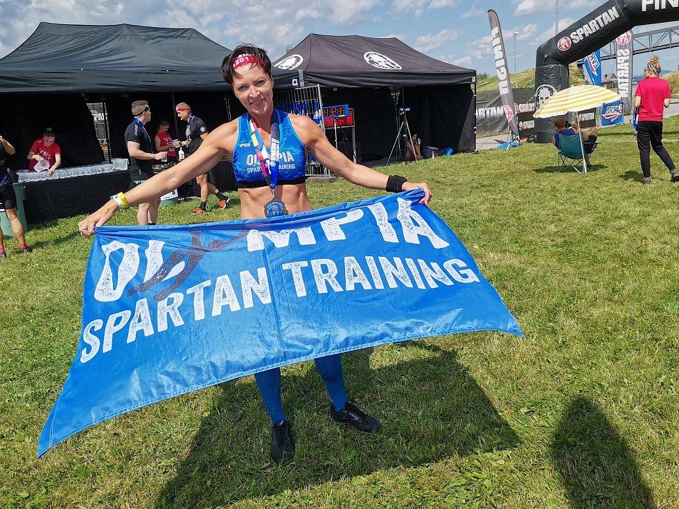 Olympia Spartan Training Kutná Hora v Liberci. Na snímku Kateřina Chocholová.