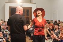 Salon Meluzína se předvedl na módní přehlídce