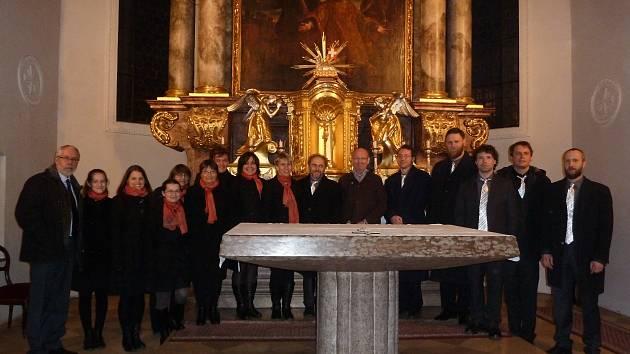 Soubor Cantica zazpíval ve St. Stephan Kirche v Mnichově