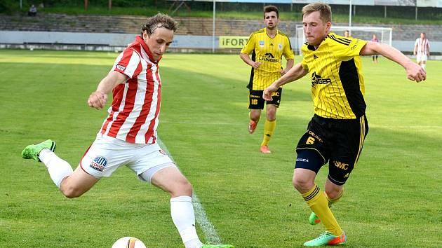 28. kolo Divize C: Kutná Hora - Ústí nad Orlicí 2:0, 5. června 2016.