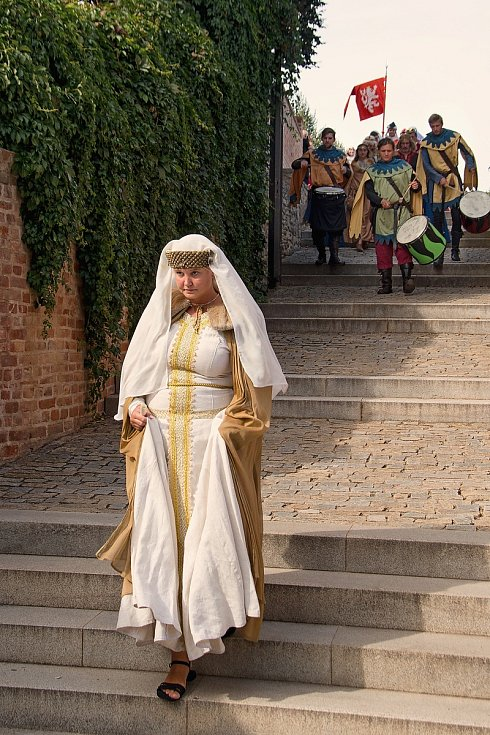 Z Průvodu králů v Kutné Hoře.