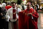 V rámci nedělních oslav svátku svatého Jakuba, patrona arciděkanského kostela v Kutné Hoře, se v chrámu uskutečnila slavnostní mše.