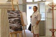 Ve Spolkovém domě vystavuje své fotografie Svatopluk Civiš.