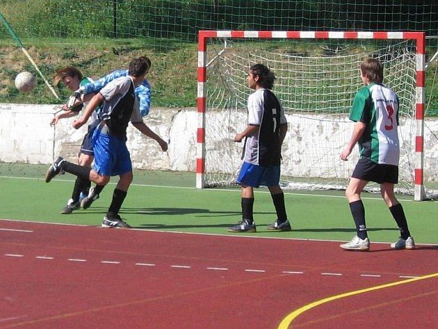 Z turnaje výchovných ústavů pořádaném v Kutné Hoře.