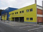 Sportovní hala Klimeška v Kutné Hoře.