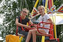Na náměstíčku v Sudějově se koná každý první víkend po svátku sv. Anny tradiční pouť.