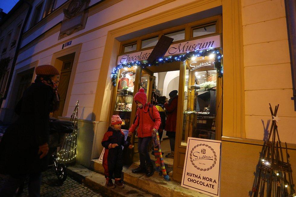 V Muzeu čokolády & čokoládovně v Kutné Hoře.
