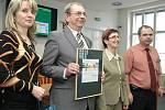 Z vyhlášení výsledků krajského kola jedenáctého ročníku soutěže Zlatý erb.
