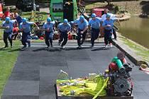Hasiči závodili v Zibohlavech v rámci třetího kola Kutnohorské hasičské ligy.