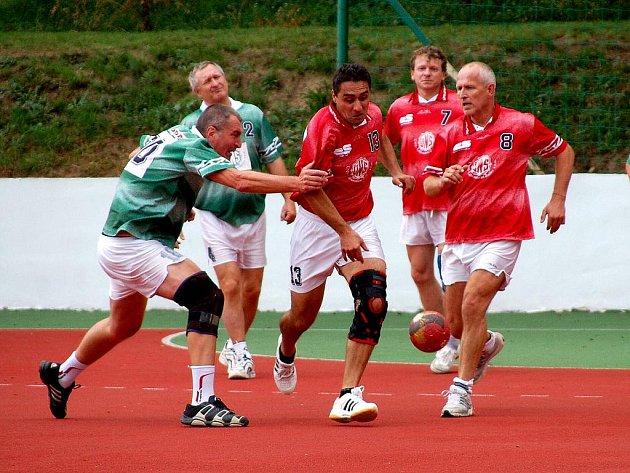 50. výročí založení mezinárodní házené v Kutné Hoře, 28. srpna 2010.
