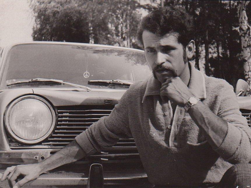 Ivan Karlovský a jeho Simca (1972).