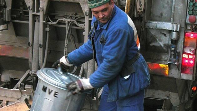 Svoz odpadu. ilustrační snímek