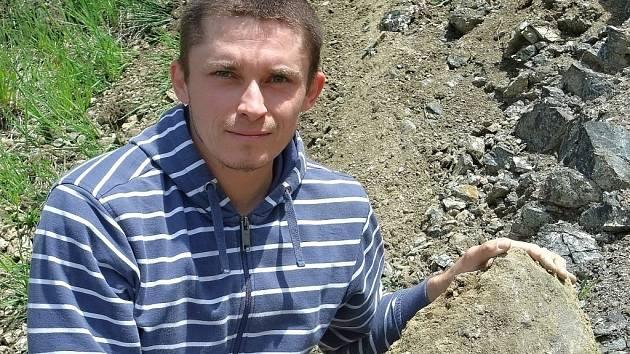 Mineralog Tomáš Kadlec portrét