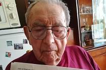 Čtenář Kutnohorského deníku Josef Komberec se narodil 27. června 1919 v Čáslavi.