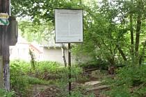 Struskové odvaly v údolí Vrchlice