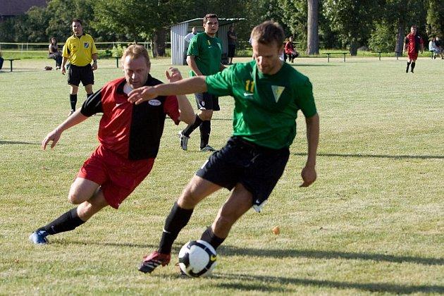 Fotbal III. třída: Chotusice - Soběšín 2:1, neděle 30. srpna 2009