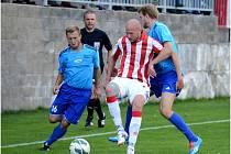 Kutná Hora porazila Živanice 1:0, 24. srpna 2014.