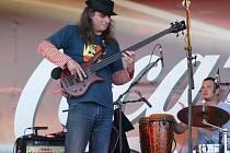 Kytarista Pavel Jakub Ryba.