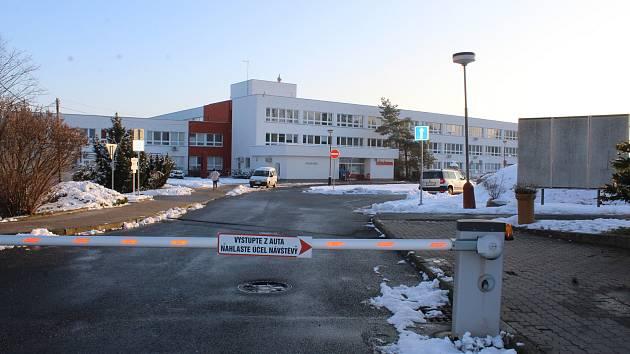 Areál Nemocnice v Kutné Hoře.