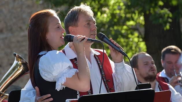 Křídlovanka zahrála ve Zruči.