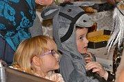 Děti si užily maškarní bál v Ratajích nad Sázavou