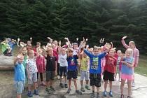 Příměstské tábory jsou především u menších dětí velmi oblíbené. Ilustrační foto.