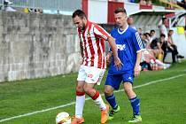 Divize C: Kutná Hora - Dvůr Králové n. L. 2:0, 16. června 2016.