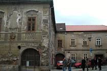 Dačického rodný dům na Komenského náměstí.
