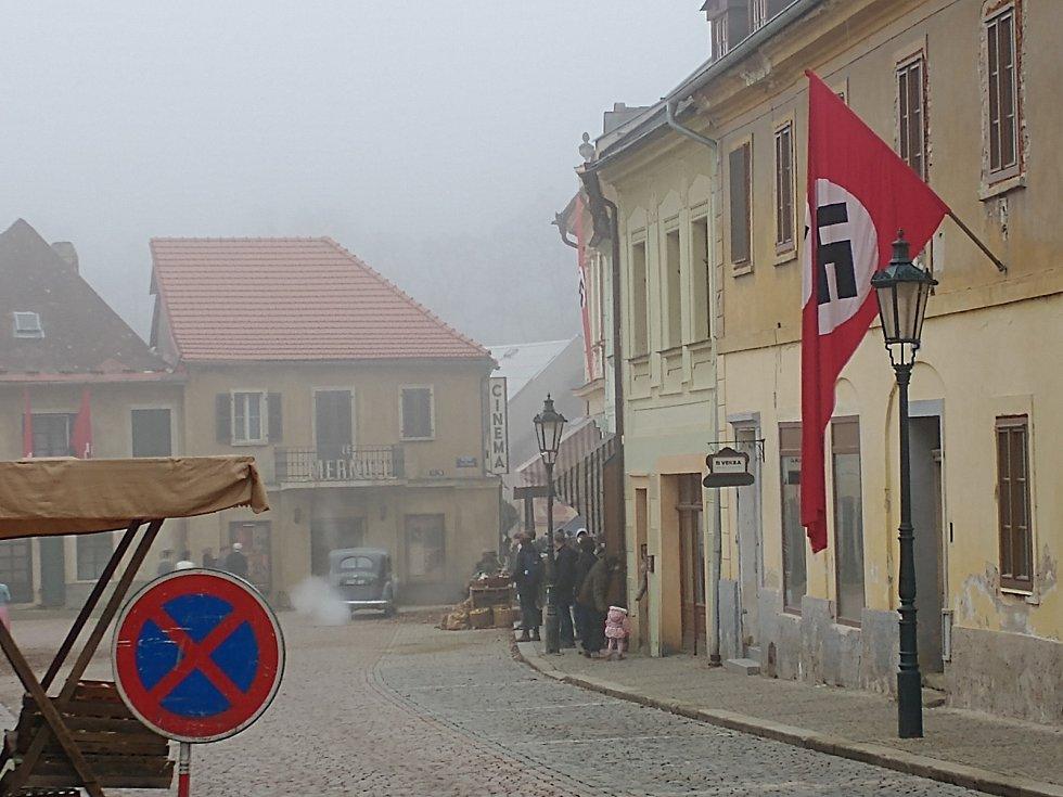 Z natáčeni filmu White Bird: AWonderStory v Kutné Hoře.