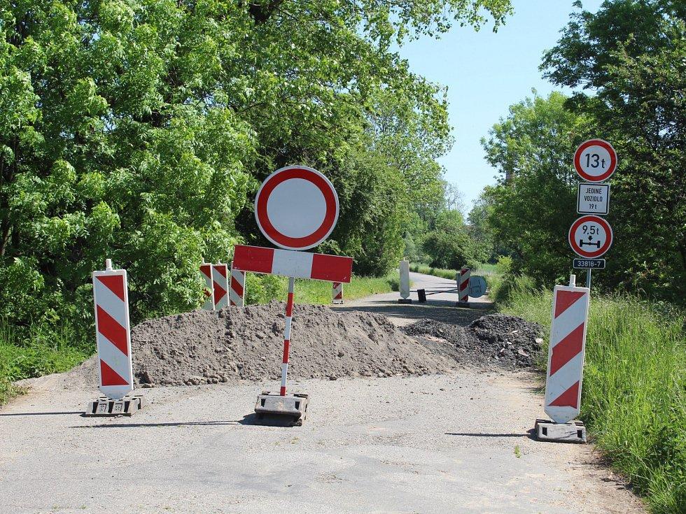 Mostek za Kuchyňkou se opravy dočká ještě letos.