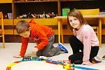 Děti z Mateřské školy v Ratajích nad Sázavou.