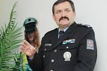 Krajský policejní ředitel Václav Kučera.