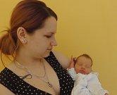 Natálie Bárthová se narodila 15. května v Čáslavi. Vážila 2450 gramů a měřila 48 centimetrů. Doma v Kutné Hoře ji přivítali maminka Martina a tatínek Jan.