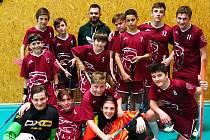 Starší žáci FBC Kutná Hora.