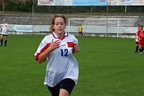 Z utkání fotbalistek Kutná Hora - Uhlířské Janovice 0:0