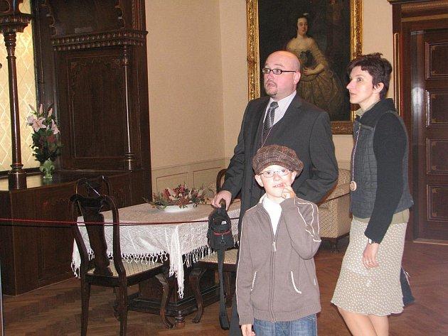 Zručský zámek otevřel v sobotu brány veřejnosti.