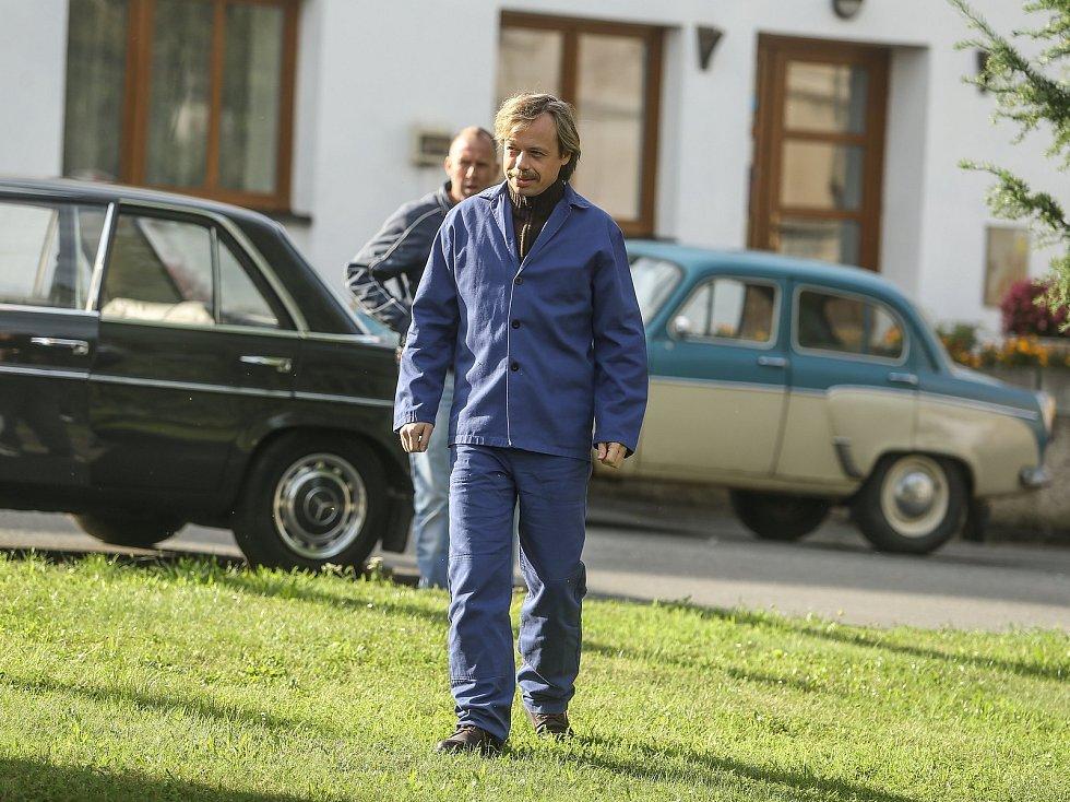 Z natáčení českého filmu Havel v Tupadlech.