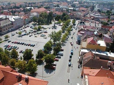 Žižkovo náměstí.