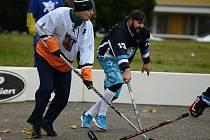 Charitativní turnaj v zabarákovém hokeji Šíša Cup v Kutné Hoře.