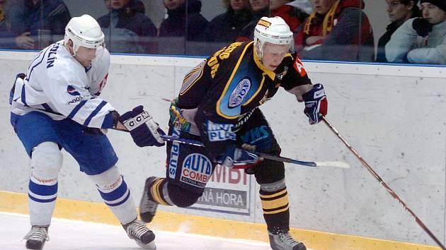 Kutná Hora - Kolín, druhý zápas play off druhé hokejové ligy, 12. 3. 2010