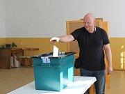 Volič v Třebešicích.