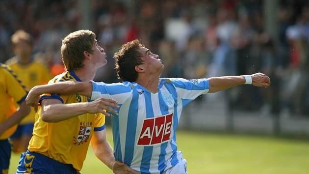 Z utkání II. ligy FC Zenit Čáslav - FC Vysočina Jihlava 2:1, neděle 10. května 2009